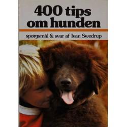 400 tips om hunde