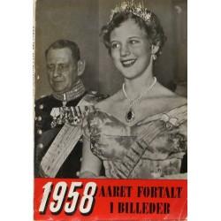 Aaret fortalt i billeder 1958