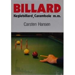 Billiard keglebilliard Carambole mm.