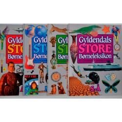 Gyldendals Store Børneleksikon Bind 1 til 4
