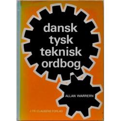 Dansk tysk teknisk ordbog