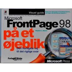 Microsoft Frontpage 98 på et øjeblik
