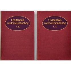 Gyldendals antikvitetshåndbog 1-2
