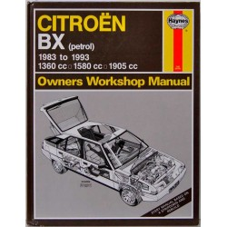 Citroën BX. Haynes Owners Workshop Manual