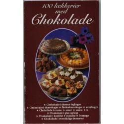 100 lækkerier med chokolade