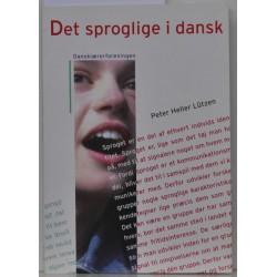 Det sproglige i dansk