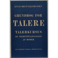 Grundbog for talere