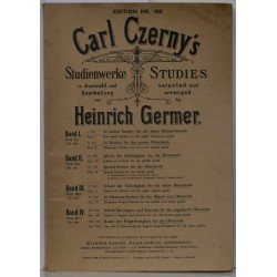 Carl Czerny's Studies Edition nr. 300