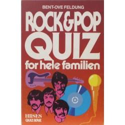 Rock & pop quiz for hele familien