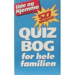 Quizbog for hele familien. Tillæg til Ude og Hjemme nr.13 1997.
