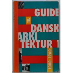 Guide til Dansk Arkitektur 1