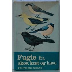 Fugle fra skov, krat og have