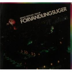 Århus Festuge 1965-89: Forvandlingsuger