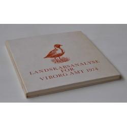Landskabsanalyse for Viborg Amt 1974