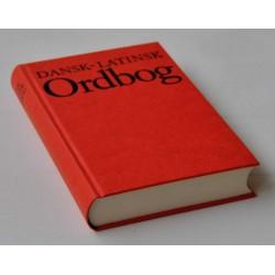 Dansk-Latinsk ordbog