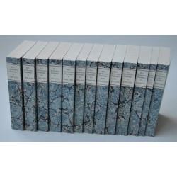 H.C. Andersens dagbøger 1-12 + Almanakker