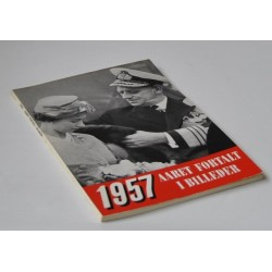 Aaret fortalt i billeder 1957.  Aargang 16