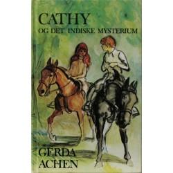 Cathy og det indiske mysterium. Illustreret af Hasse Erikson.