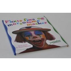 Flotte fjæs og morsomme masker. Sjove ideer til ansigtsmaling