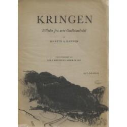 Kringen – Billeder fra øvre Guldbrandsdal. Illustreret af Sven Havsteen-Mikkelsen.