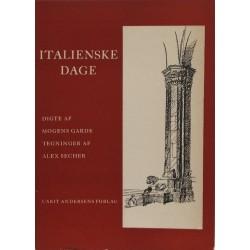 Italienske Dage – Illustreret af Alex Secher.