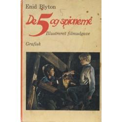 De 5 og spionerne. Illustreret filmudgave.