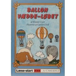 Ballon vædde-løbet. Illustreret af Carolyn Croll.