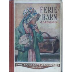 Feriebarn. Med tegninger af Axel Mathiesen.