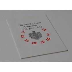 Danmarks Riges Grundlov af 5. juni 1953.