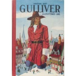 Gulliver i lilleputternes land. Illustreret af Withus.