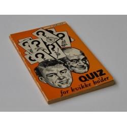 Quiz for kvikke ho'der - 7. samling