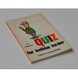Quiz for kvikke ho'der - 20. samling