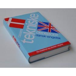 Clausens Tekniske Ordbøger - Dansk-Engelsk