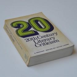 20th Century Literary Criticism - A Reader