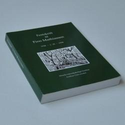 Festskrift til Finn Mathiassen 1928 – 2 – III – 1998