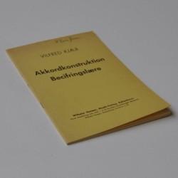 Akkordkonstruktion – Becifringslære