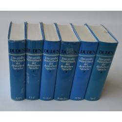 Duden – Das grosse Wörterbuch der deutschen Sprache 1 - 6