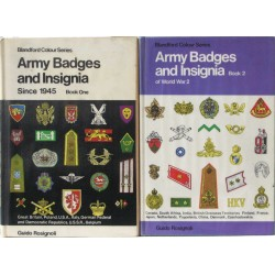 Army Badges and Insignia. Bind 1+2.