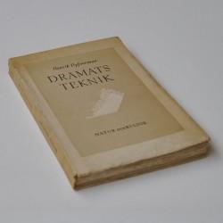 Dramats teknik – vägledning för författaren teatermannen