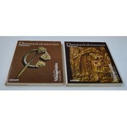 Danmarkshistorien – Vikingetiden – Bind 1+2