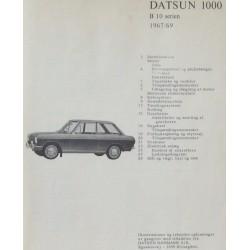Datsun 1000 B 10 serien. 1967/69.