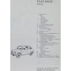 Fiat 600 D. 1961/66-.