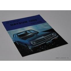 Datsun 1200 2 dørs Sedan