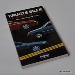 Brugte biler på godt og ondt – 85 bilmodeller årgang 1984-93