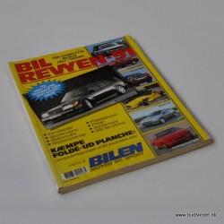 Bil Revyen 1991 - Danmarks biloversigt med samtlige nyheder