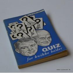 Quiz for kvikke ho'der – 9. samling