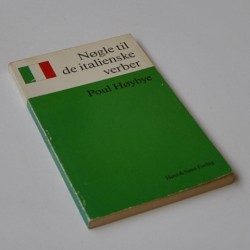 Nøgle til de italienske verber