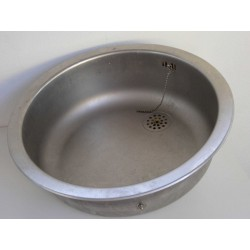 Stålvask - rund