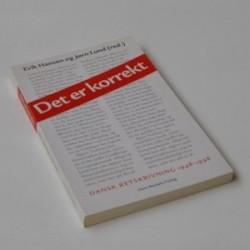 Det er korrekt - Dansk retskrivning 1948-1998
