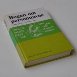 Bogen om personnavne - Oprindelse. Historie. Brug